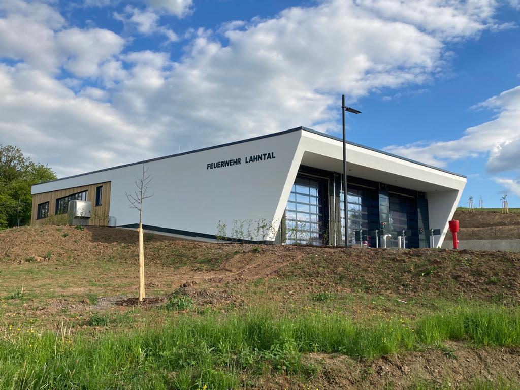 Neues Feuerwehrhaus Caldern eingeweiht